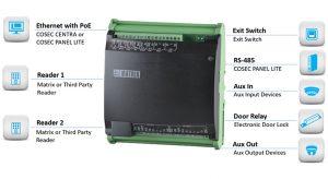 Controller Input-Output COSEC ARC IO800 Ringkas dari Matrix