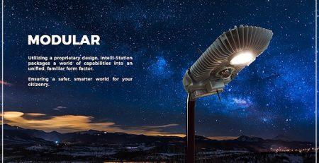 Lampu Yang Dapat Menerangi Jalan Dan Dilengkapi CCTV